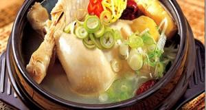 Gà hầm sâm hàn quốc món ăn ngon để các mẹ trổ tài