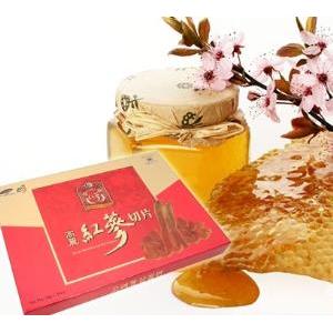 sản phẩm sâm tẩm mật ong hàn quốc