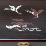 An cung ngưu hoàng Kwangdong Hàn Quốc hộp gỗ nâu