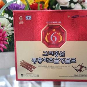 Cao hồng sâm đông trùng hạ thảo Hàn quốc hộp 2 lọ x 250g mới nhất