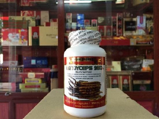 Sản phẩm đông trùng hạ thảo Cordyceps 950 của Mỹ