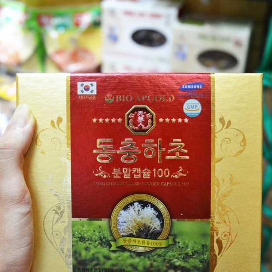 Đông trùng hạ thảo hộp 60 viên Hàn Quốc
